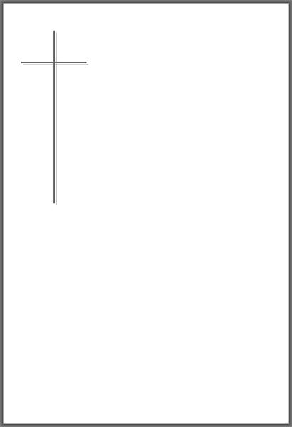 Doppelkreuz-grau